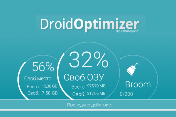 Droid Optimizer – оптимизация смартфона и планшета для Galaxy S5, S4, S3, Note 3, Note 4, Ace 2