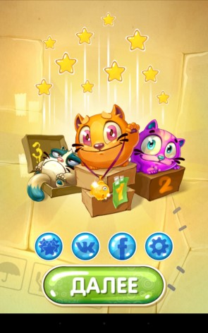 Котики – разгоняем котов для Galaxy S5, S4, S3, Note 3, Note 4, Ace 2