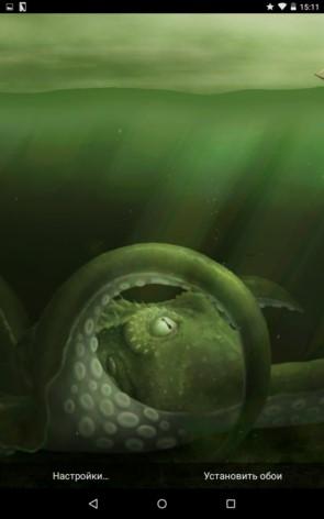 Kraken – чудовище морской пучины для Galaxy S5, S4, S3, Note 3, Note 4, Ace 2