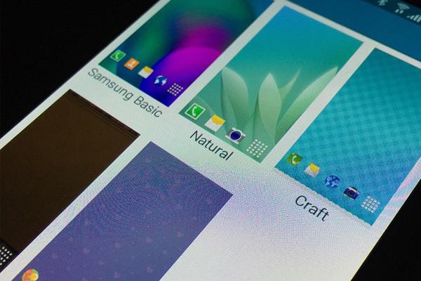Скриншоты Тем на новом TouchWiz