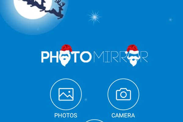 PhotoMirror – зеркальные фото для Samsung Galaxy Note 4, Note 3, S5, S4, S3