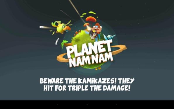 Planet Nam Nam – уничтожение птиц-воришек для Samsung Galaxy S5, S4, Note 3, Note 4