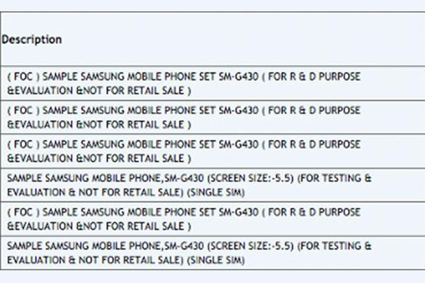 Первая информация о смартфоне Samsung SM-G430