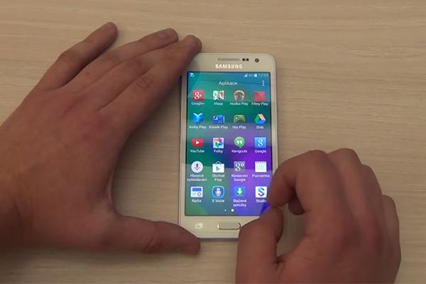 Предварительные видео обзоры Samsung Galaxy A3
