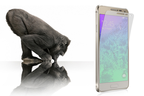 В Samsung Galaxy Alpha и Galaxy Note 4 установлено Gorilla Glass 4