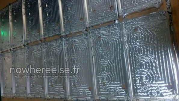 Фото металлических каркасов будущего Samsung Galaxy S6