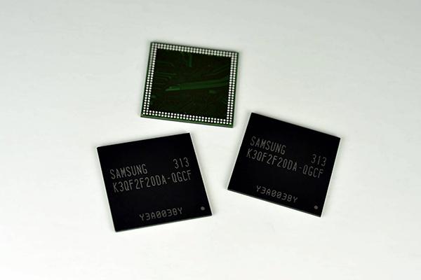 Samsung готовит производство новых чипов оперативной памяти 4 Гб LPDDR4
