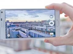 Пример записи 4K видео на Galaxy Note 4