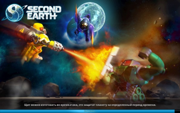 Second Earth – космические баталии для Samsung Galaxy Note 4, Note 3, S5, S4, S3