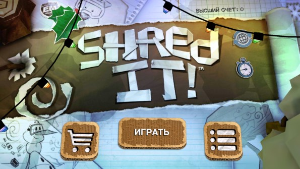 Shred It! – забавный сноуборд для Samsung Galaxy S5, S4, Note 3, Note 4