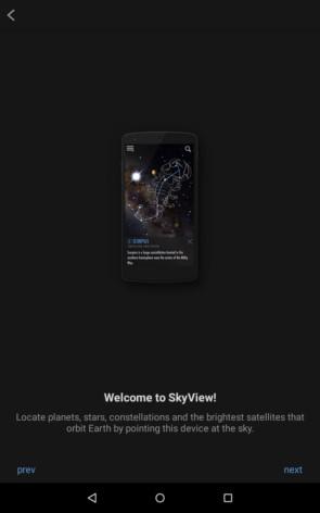 SkyView – прогулка в космосе для Samsung Galaxy Note 4, Note 3, S5, S4, S3