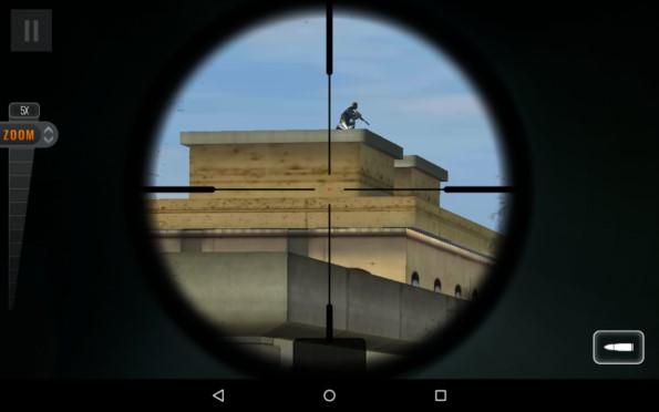 Sniper 3D – меткий стрелок для Samsung Galaxy S5, S4, Note 3, Note 4