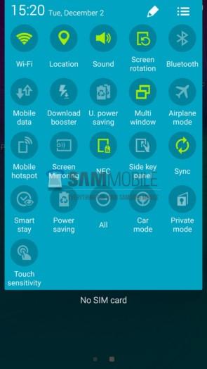 Скриншоты Android 5.0 Lollipop для Samsung Galaxy Note 4