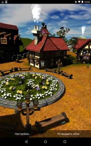 Мультяшный городок 3D – виртуальное поселение для Samsung Galaxy Note 4, Note 3, S5, S4, S3