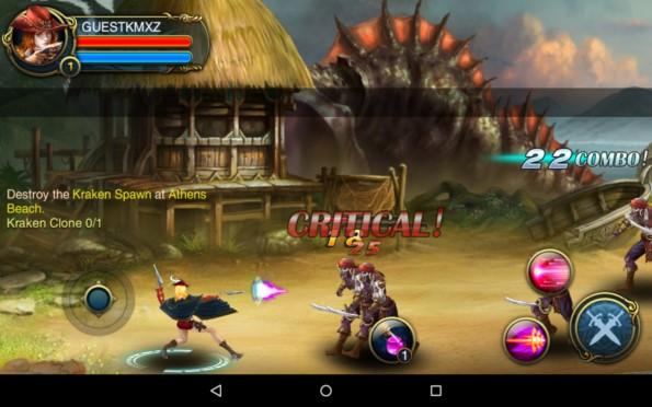 Blood & Blade – покорители морей для Samsung Galaxy Note 4, Note 3, S5, S4, S3
