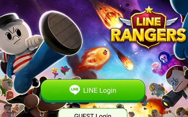 LINE Rangers – оборона зверушек для Галакси С5, С4, Нот 4, Нот 3