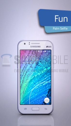 Samsung Galaxy J1  - новая модель SM-J100 (фото и характеристики)