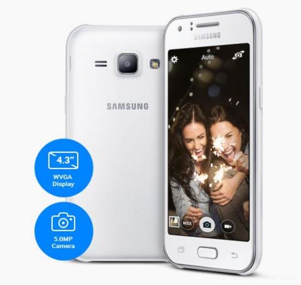 Фото и характеристики Samsung Galaxy J1