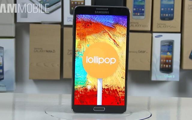 В россии стартовало обновление Android 5.0 Lollipop для Samsung Galaxy Note 3