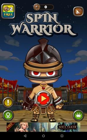 Spin Warrior – воин один-очка для Samsung Galaxy Note 4, Note 3, S5, S4, S3