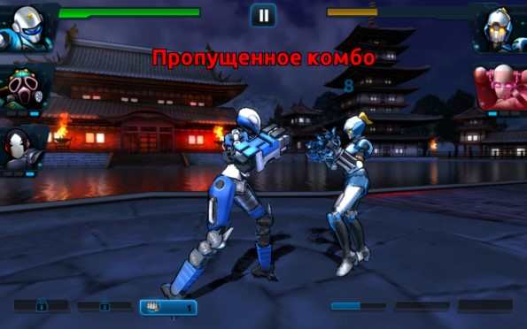 Ultimate Robot Fighting – стальная команда для Samsung Galaxy S5, S4, Note 3, Note 4