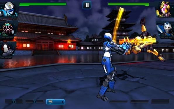 Ultimate Robot Fighting – стальная команда для Samsung Galaxy S5, S4, Note 3, Note 4