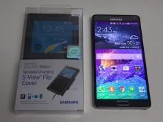 Крышка и чехол для беспроводной зарядки Galaxy Note 4