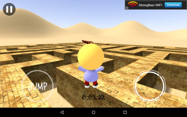 3D Maze – бег в лабиринте для Galaxy S5, S4, S3, Note 3, Note 4, Ace 2