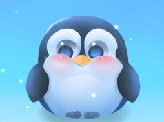 Chubby Pengu – милый пингвин для Galaxy S5, S4, S3, Note 3, Note 4, Ace 2
