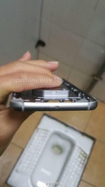 Фотографии металлического каркаса Galaxy S6