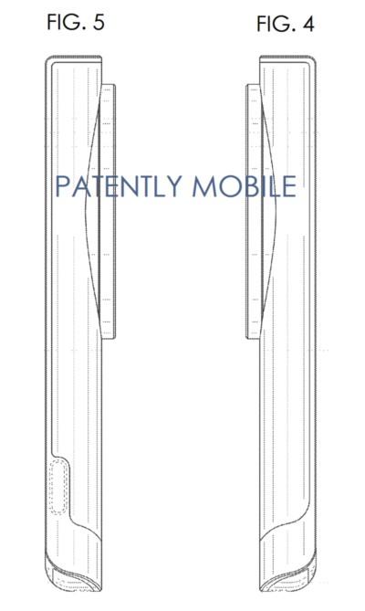 Фото запатентированного дизайна возможного Galaxy K2 Zoom