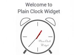 Plain Clock Widget – простые часы для Galaxy S5, S4, S3, Note 3, Note 4, Ace 2