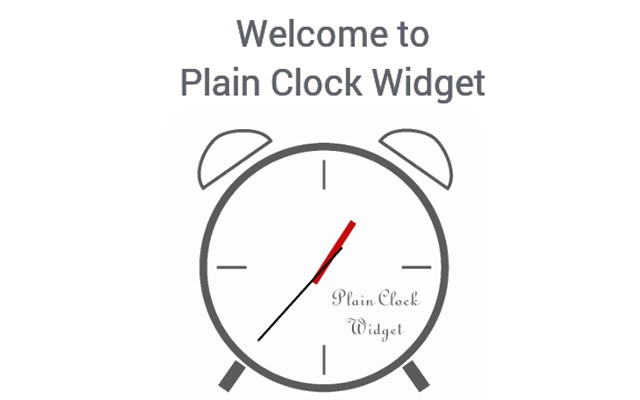 Plain Clock Widget – простые часы для Galaxy S5, S4, S3, Note 3, Note 4, Ace 2
