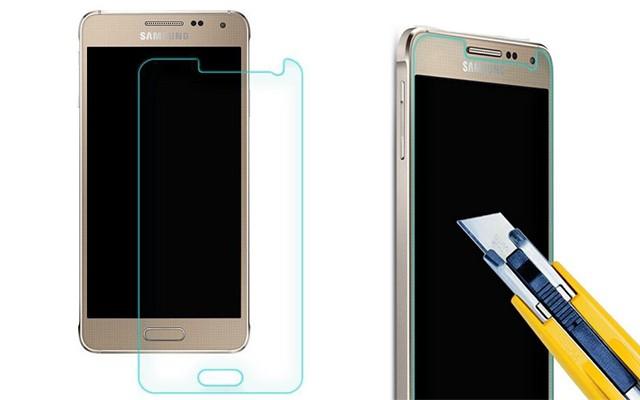 Защитное стекло для экрана Galaxy Alpha
