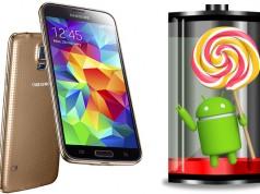 Улучшение автономности работы Galaxy S5 с Android Lollipop