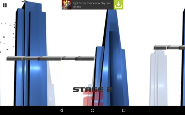 Stickman Impossible Run – бег за жизнь для Samsung Galaxy Note 4, Note 3, S5, S4, S3