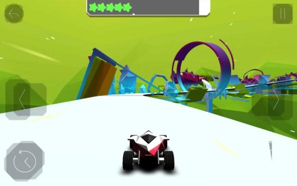 Stunt Rush – гонки будущего для Samsung Galaxy S5, S4, Note 3, Note 4