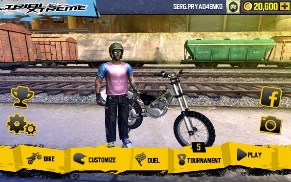 Мотокросс Trial Xtreme 4 для Samsung Galaxy Note 4, Note 3, S5, S4, S3