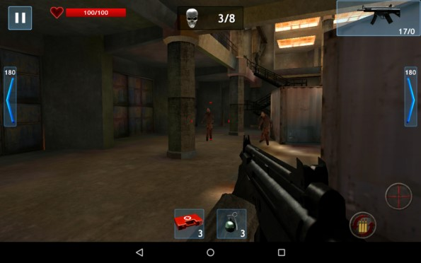 Zombie Objective – новая война с зомби для Samsung Galaxy S5, S4, Note 3, Note 4