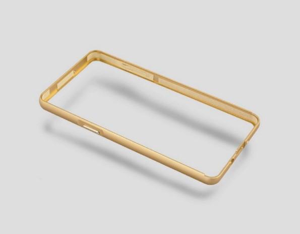 Аллминиевый чехол бампер на Galaxy A5