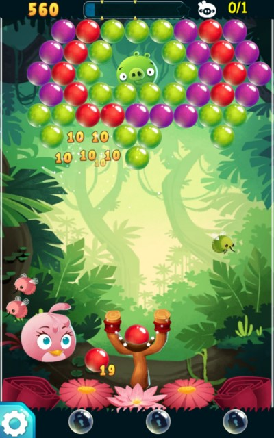 Angry Birds Stella POP – птицы снова в деле для Галакси C6, С5, С4, Нот 4, Нот 3