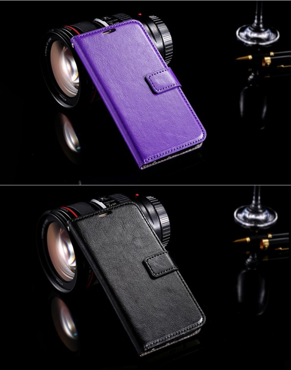 Чехол-книжка из кожи для Samsung Galaxy S6