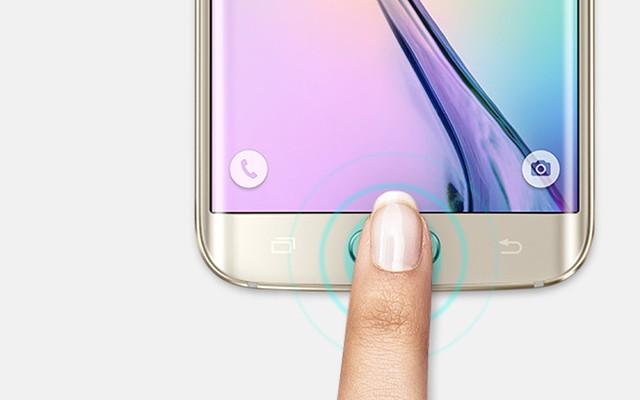 Авторизация на сайтах с помощью сканера отпечатков пальцев Galaxy S6