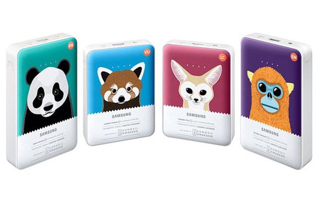 Внешние аккумуляторы Необычные портативные аккумуляторы от Samsung Charge the Life