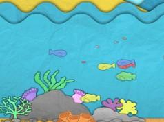 Paper Sea – бумажное море для Galaxy S6, S5, S4, S3, Note 3, Note 4, Ace 2