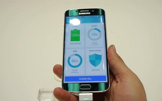 Скачать приложения с Samsung Galaxy S6