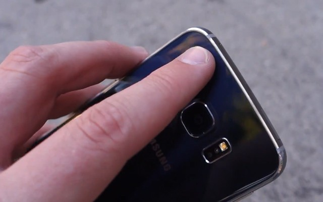 Дроп-тест Samsung Galaxy S6 Edge