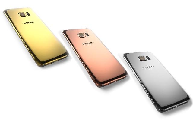 Версии Galaxy S6 и S6 Edge из золота и платины