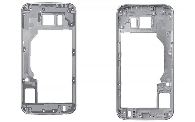 Как обрабатывают металл и стекло для Samsung Galaxy S6 и Galaxy S6 Edge
