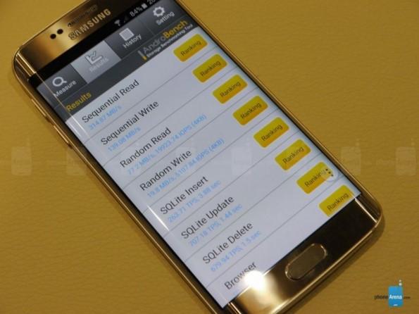 Тесты Samsung Galaxy S6 Edge в бенчмарках